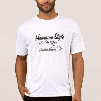 Estilo havaiano tshirt