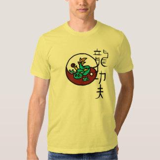 Estilo Kung Fu do dragão T-shirts