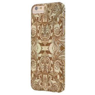 estilo mal étnico positivo do caso do iPhone 6 Capa Barely There Para iPhone 6 Plus