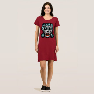 ESTILO MEXICANO do CRÂNIO do AÇÚCAR por Vestido