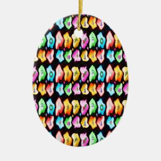 Estilo: O ornamento oval traz muito mais o che do
