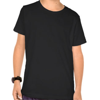 Estilo preto e cinzento 2 do chapéu de vaqueiro camisetas