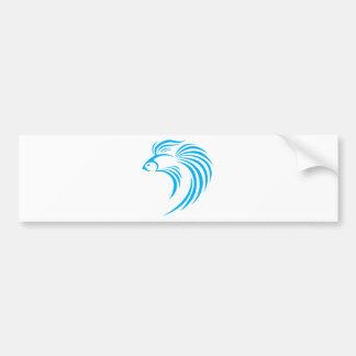 Estilo Siamese legal do ícone do logotipo da abana Adesivo Para Carro