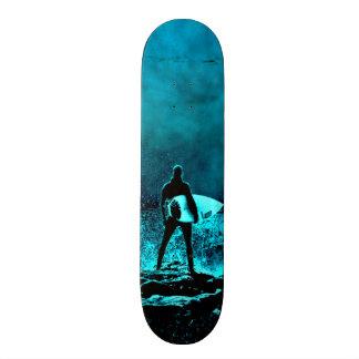 Estilo surfando do Grunge do verão Shape De Skate 20cm
