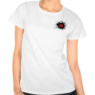 Estilo urbano de encaixotamento camisetas