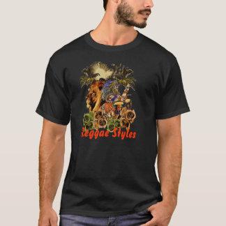 Estilos da reggae camiseta