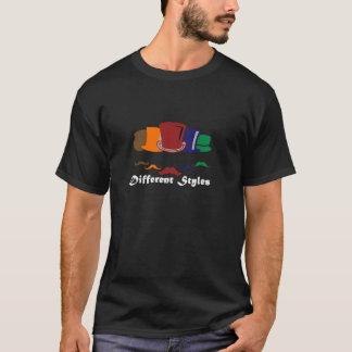 estilos diferentes camiseta