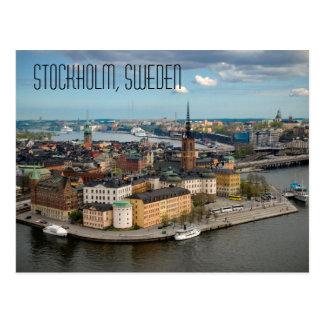 Éstocolmo, cartão da suecia