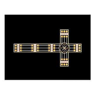 estola transversal católica húngara do símbolo do cartão postal