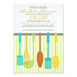 Estoque na moda os chás de panela da cozinha convite