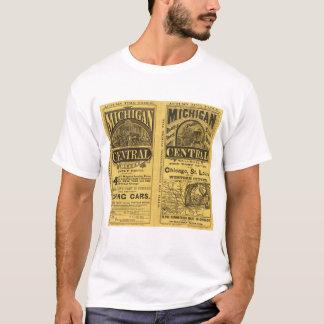 Estrada de ferro da central de Michigan Camiseta