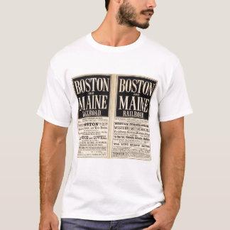 Estrada de ferro de Boston e de Maine Camiseta