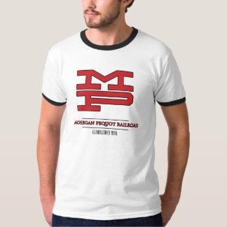 Estrada de ferro de Mohegan Pequot - Est. 1980 Camiseta