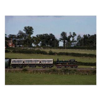 Estrada de ferro do Bluebell Cartão Postal