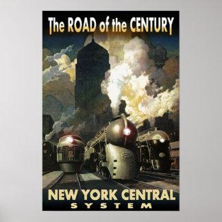 Estrada de NYC do século Pôster