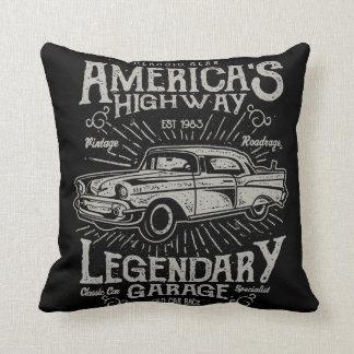 Estrada do carro | Hotrod americano clássico do Almofada