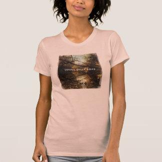 Estrada ensolarada da angra - senhoras da camisa camiseta