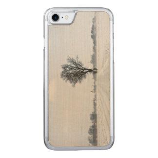 Estrada rural do inverno capa iPhone 8/ 7 carved