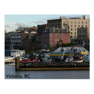 Estrada ventosa Victoria, BC cartão