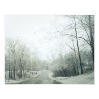 Estradas congeladas convite