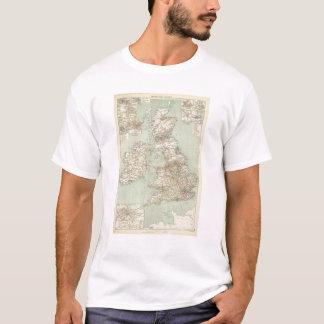 Estradas de ferro das ilhas britânicas camiseta
