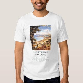 Estradas de ferro pastorais de Ingleses do homem e T-shirt