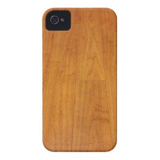 Estratificação de madeira Brown do parquet do Capa Para iPhone 4 Case-Mate