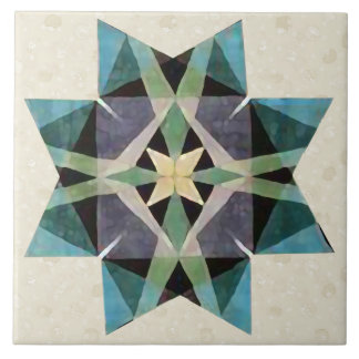 Estrela afligida do persa de Kaleidescopic da