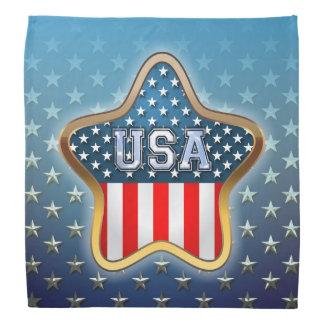 Estrela americana faixas para cabeça