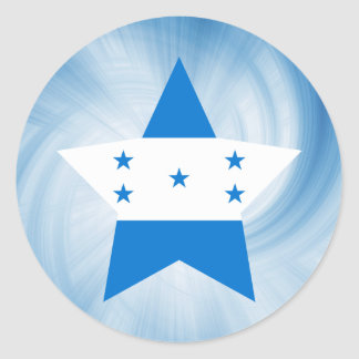 Estrela amigável da bandeira de Honduras do miúdo Adesivo
