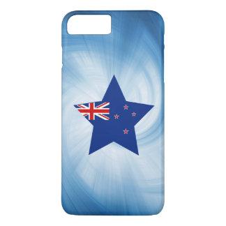 Estrela amigável da bandeira de Nova Zelândia do Capa iPhone 7 Plus