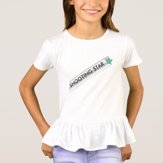 Estrela azul - estrela de tiro camiseta