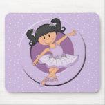 Estrela bonito Mousepad do balé da bailarina 2 do
