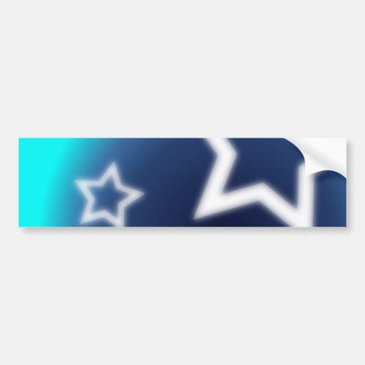 Estrela brilhante adesivo