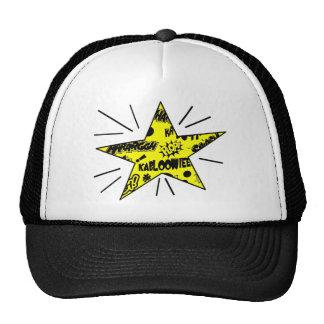 Estrela cómica retro das Chamada-Saídas Bonés