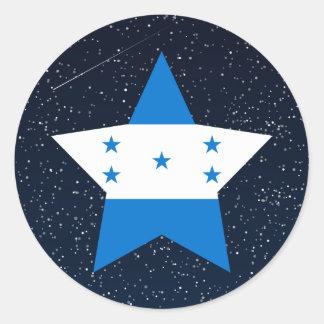 Estrela da bandeira de Honduras no espaço Adesivo