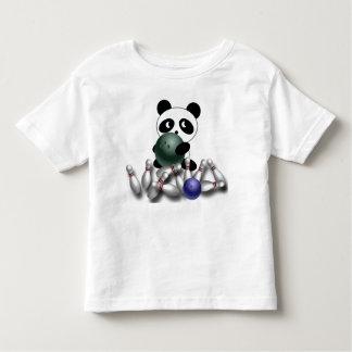 Estrela da boliche camiseta infantil