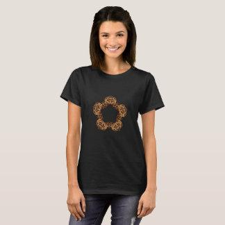 Estrela da varinha do fogo - camisetas femininas