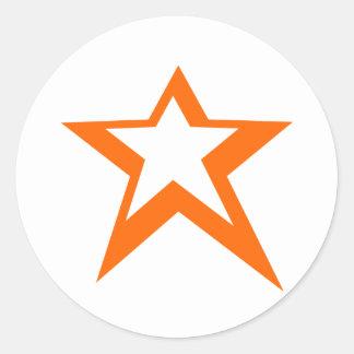 Estrela da vitória adesivo