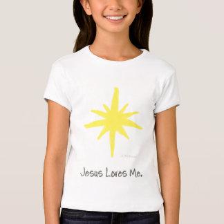 Estrela de brilho camiseta