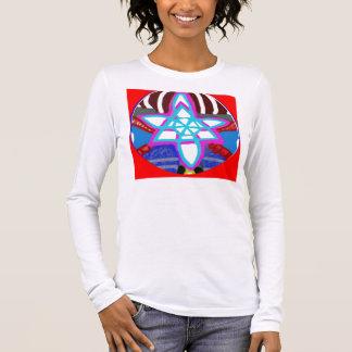 ESTRELA de brilho - Karuna Reiki NOSA Camiseta Manga Longa