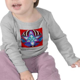 ESTRELA de brilho - Karuna Reiki NOSA T-shirts
