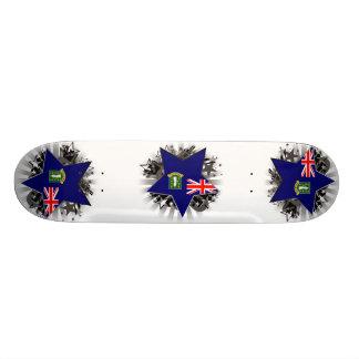 Estrela de British Virgin Islands Skate Boards