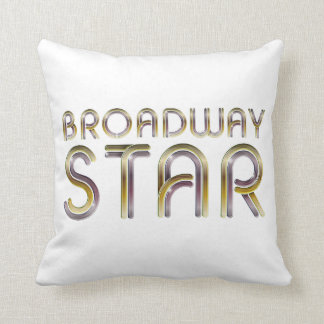 Estrela de Broadway do T Almofada