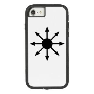 Estrela de capas de iphone resistentes do caos