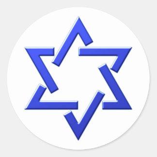 Estrela de davi selo Salomon seal Adesivo
