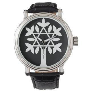 Estrela de David - árvore do relógio da vida