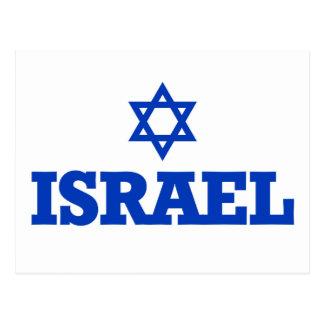 Estrela de David de Israel Cartao Postal