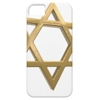 estrela de David do chanukkah do ouro Capa Para iPhone 5