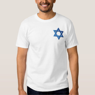 """Estrela de David """"Magen David """" Camisetas"""